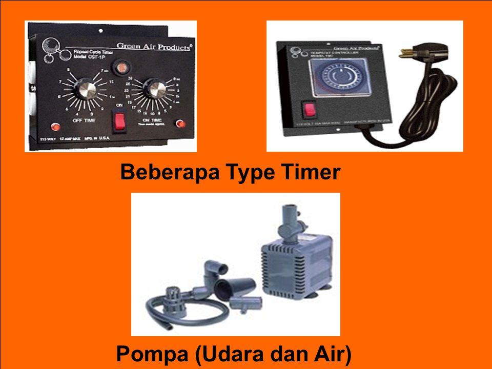 Beberapa Type Timer Pompa (Udara dan Air)