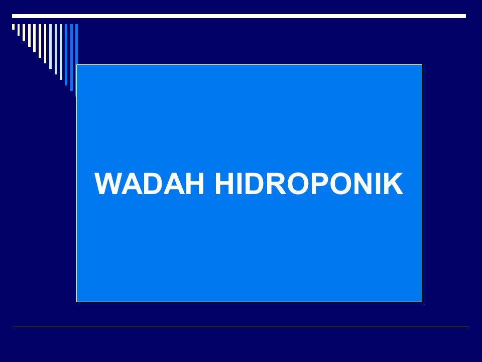 WADAH HIDROPONIK