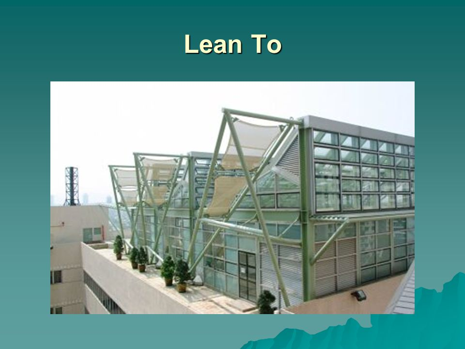 Lean To