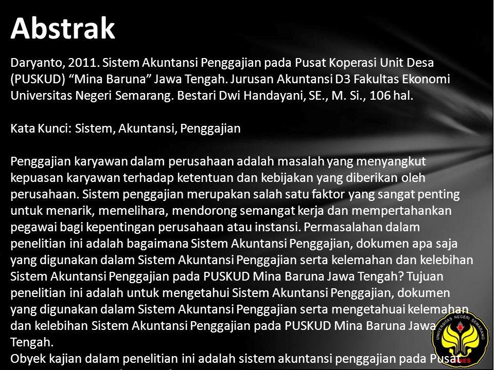 Abstrak Daryanto, 2011.