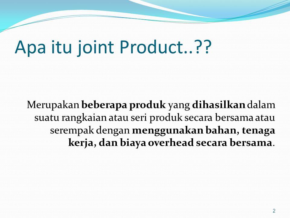Apa itu joint Product..?.