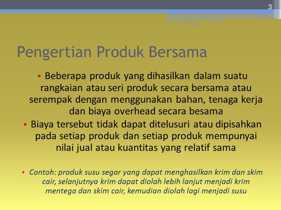 Pengertian Produk A Split off Point Produk B Produk C Proses gabungan Bahan baku