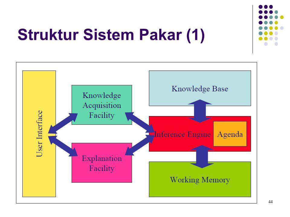Struktur Sistem Pakar (1) 44
