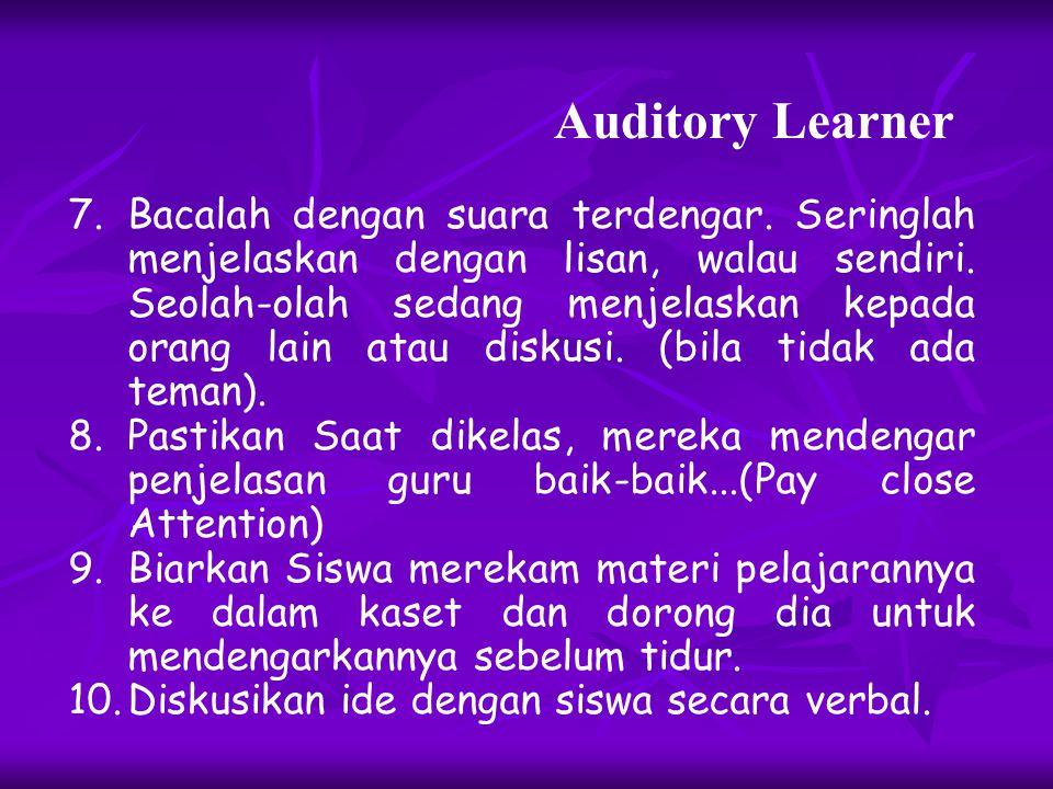 4.Manfaatkan musik klasik atau jazz untuk menenangkan diri karena terlalu banyak menyerap pelajaran. Hindari menperdengarkan lagu-lagu, berita dari ra