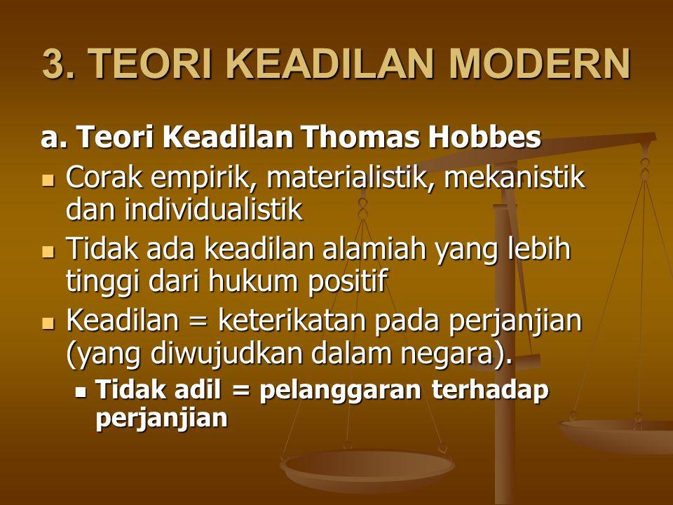 3.TEORI KEADILAN MODERN a.