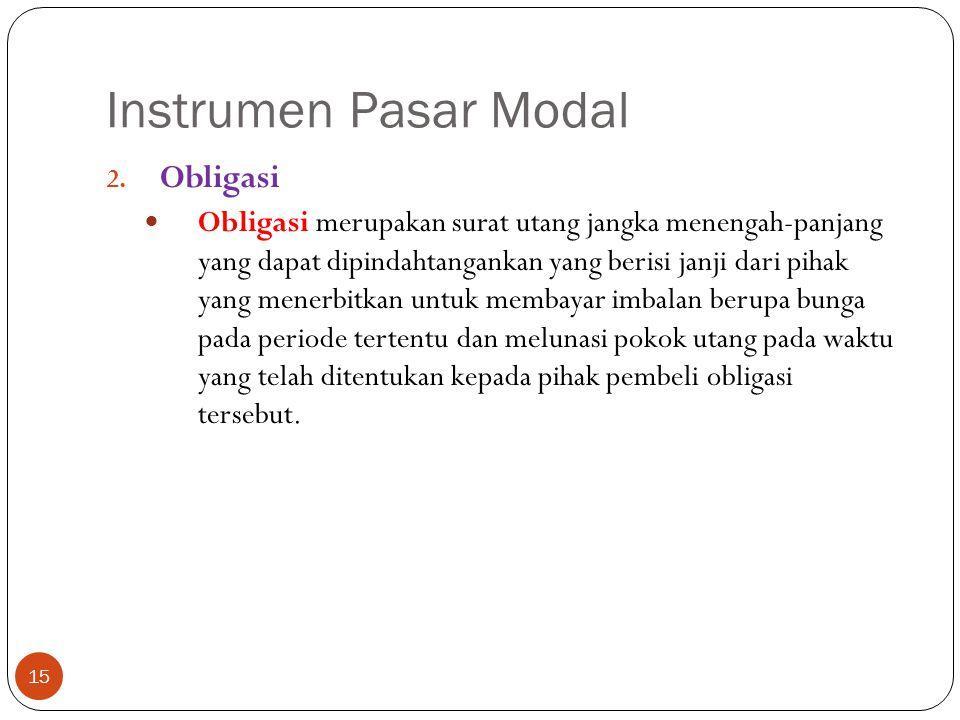 Instrumen Pasar Modal 15 2.