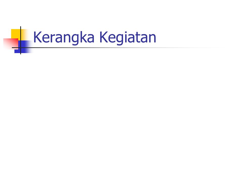 Output Master Plan Strategi Jangka Pendek & Pola Pembiayaan Strategi Jangka Panjang & Pedoman Tahunan