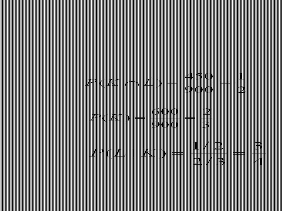 Contoh lain Peluang Kereta Api Gajayana berangkat tepat pada waktunya adalah P(B) = 0.85, peluang Kereta Api Gajayana datang tepat pada waktunya adalah P(D) = 0.