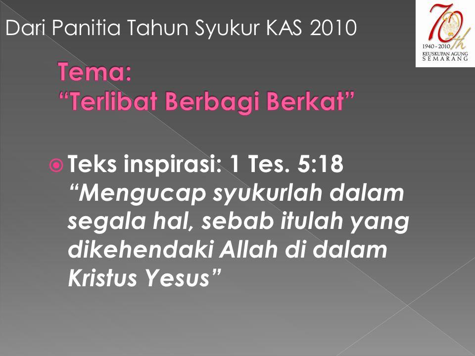  Teks inspirasi: 1 Tes.