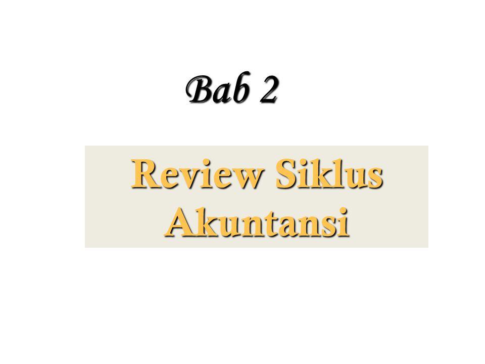 Review Siklus Akuntansi Bab 2