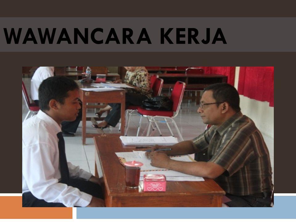 Wawancara kerja merupakan kesempatan yang sangat diharapkan oleh pelamar saat mengikuti proses rekrutmen tenaga kerja.