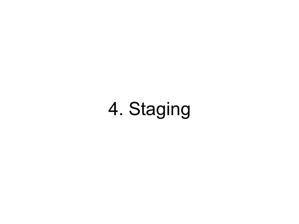 4. Staging