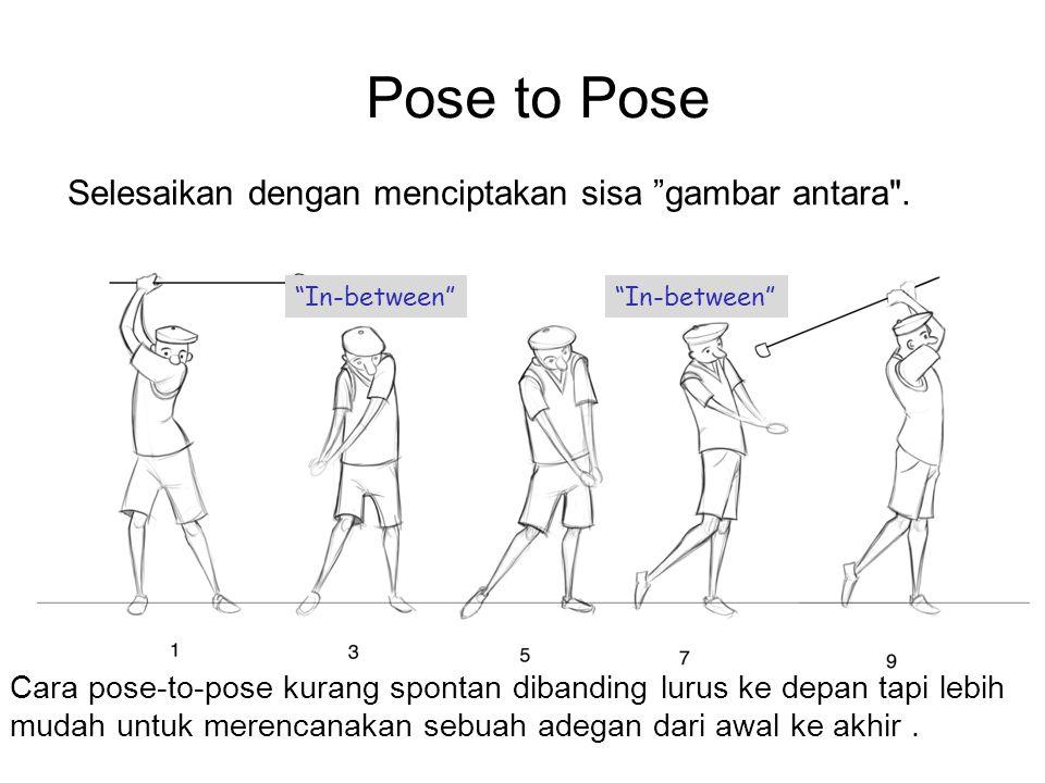 """Pose to Pose Selesaikan dengan menciptakan sisa """"gambar antara"""