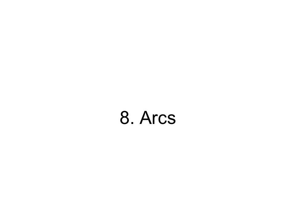 8. Arcs