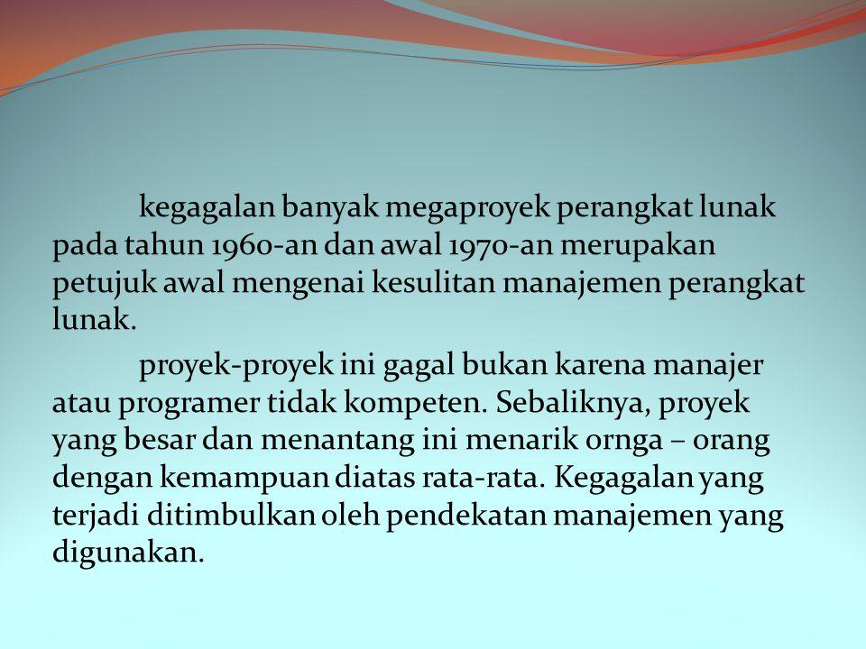 Pemantauan proyek merupakan kegiatan proyek yang berkesinambungan.