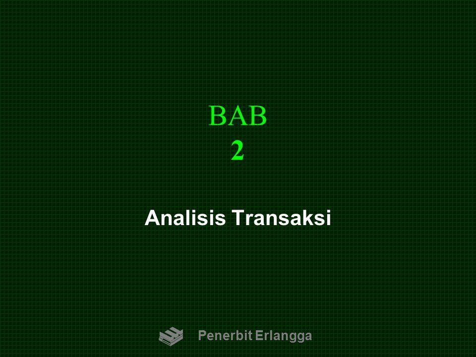 BAB 2 Penerbit Erlangga Analisis Transaksi