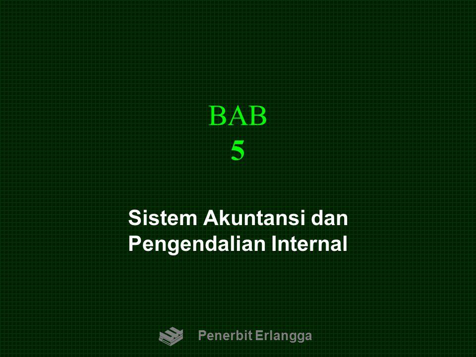 BAB 5 Penerbit Erlangga Sistem Akuntansi dan Pengendalian Internal