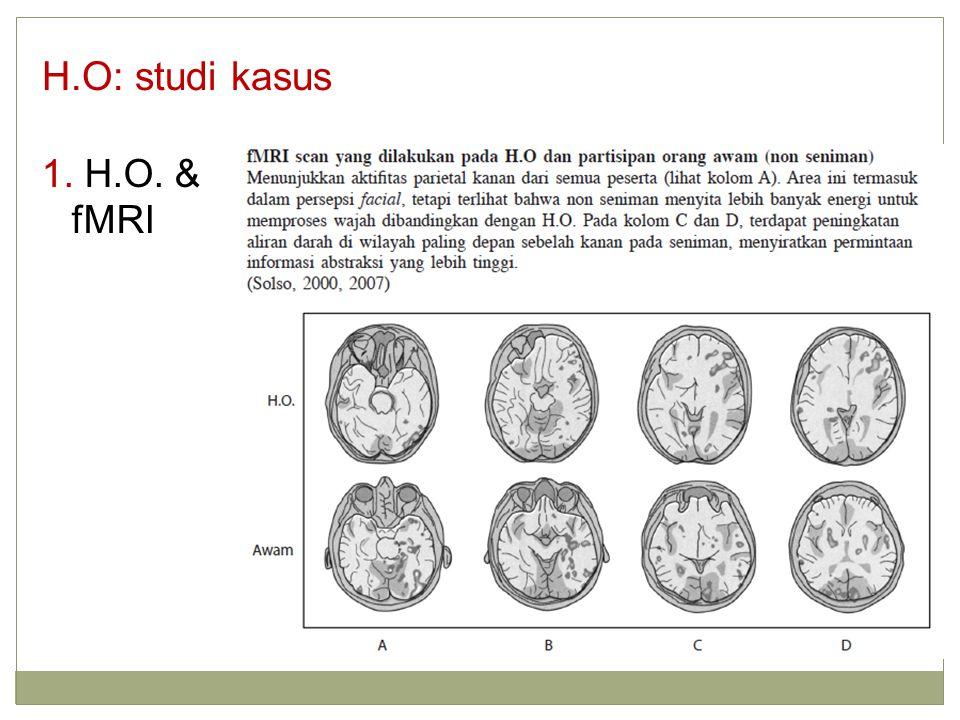 1. H.O. & fMRI H.O: studi kasus