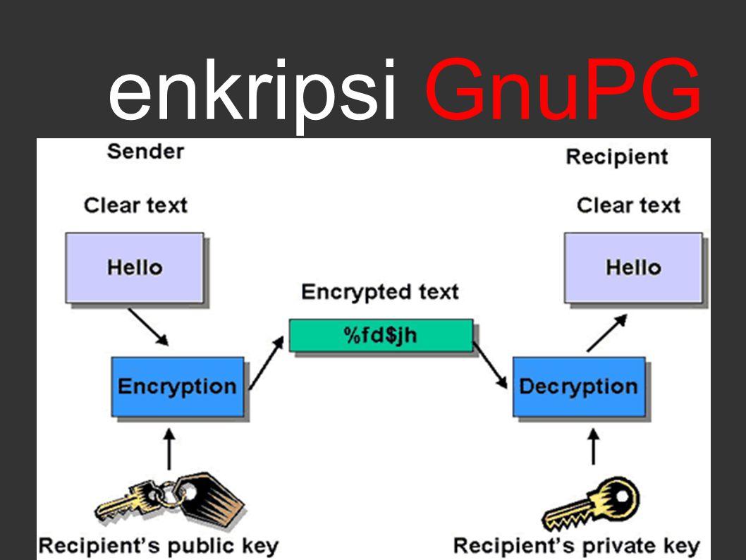 enkripsi GnuPG
