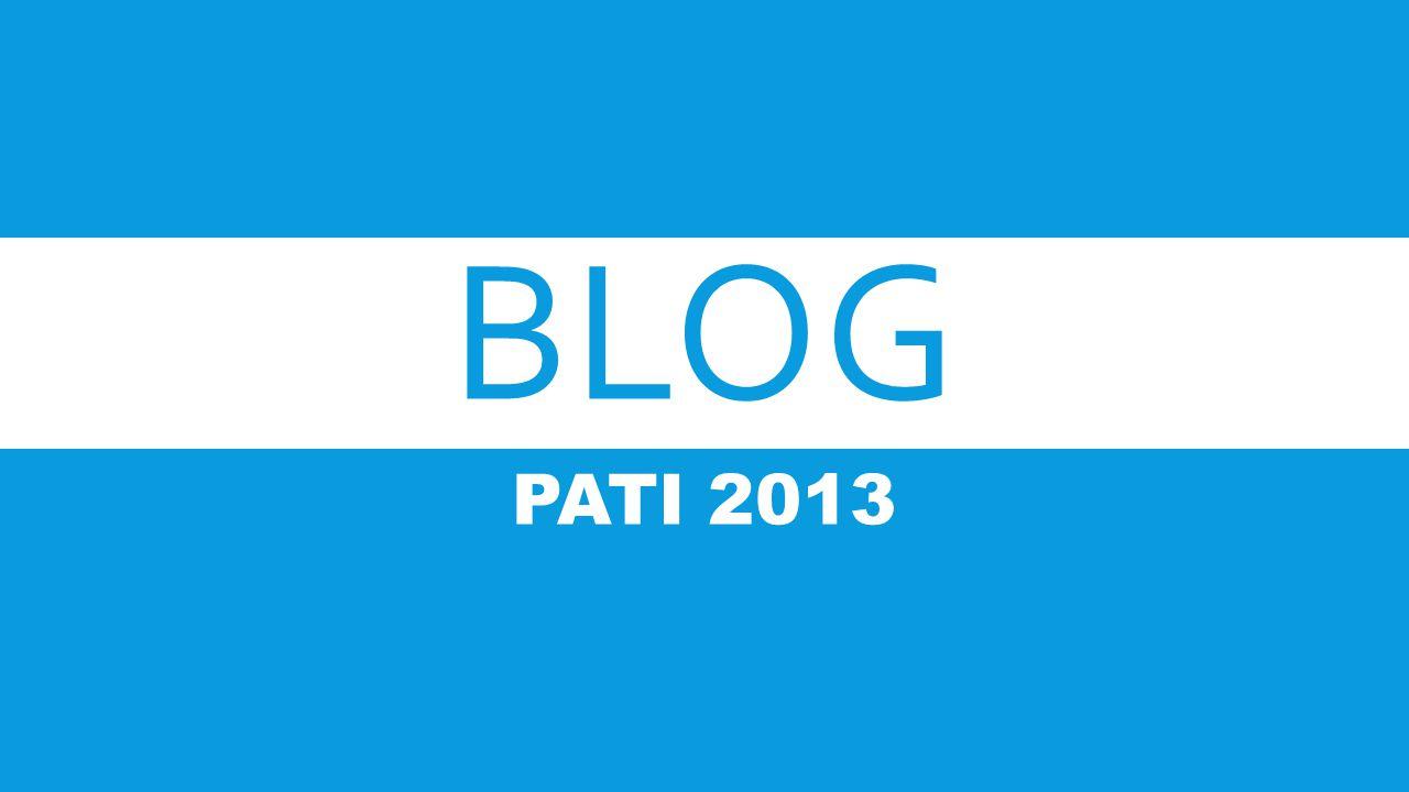 BLOG PATI 2013
