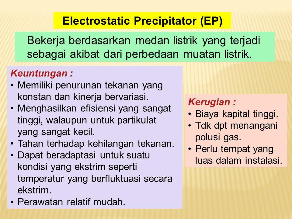 Bekerja berdasarkan medan listrik yang terjadi sebagai akibat dari perbedaan muatan listrik.
