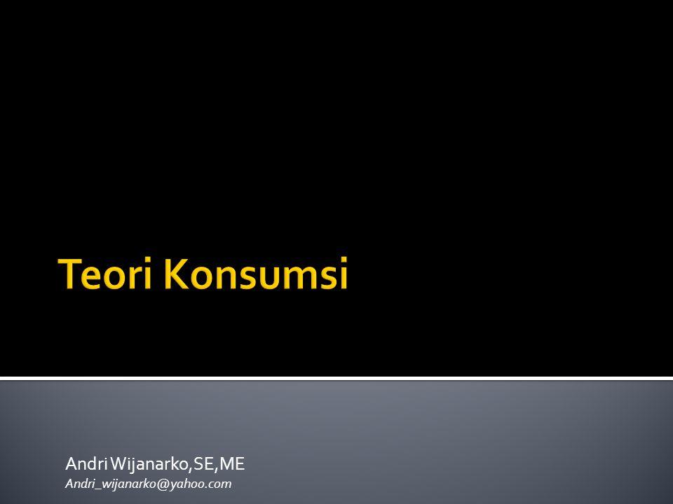 Andri Wijanarko,SE,ME Andri_wijanarko@yahoo.com