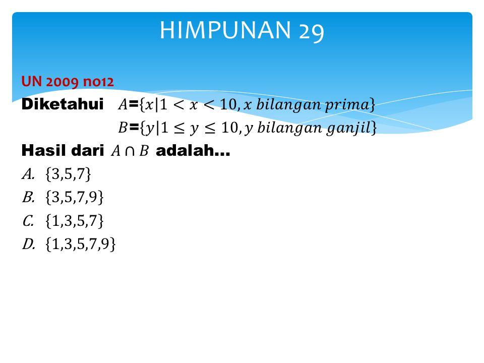HIMPUNAN 29