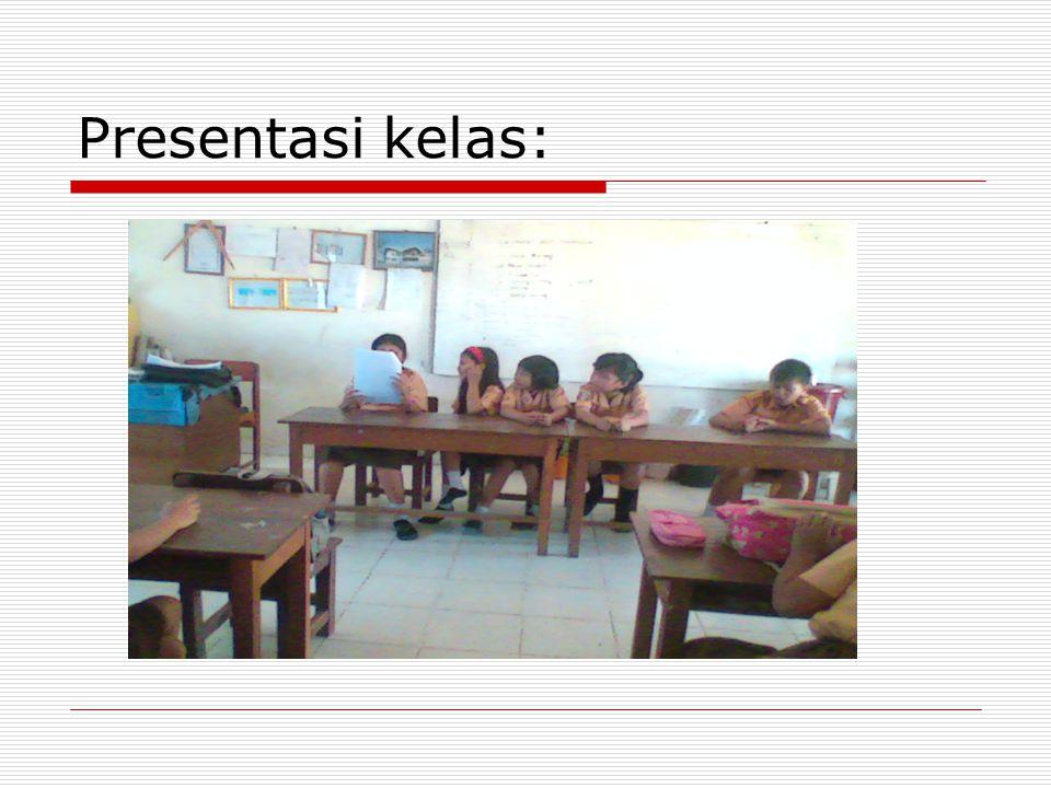 Presentasi kelas:
