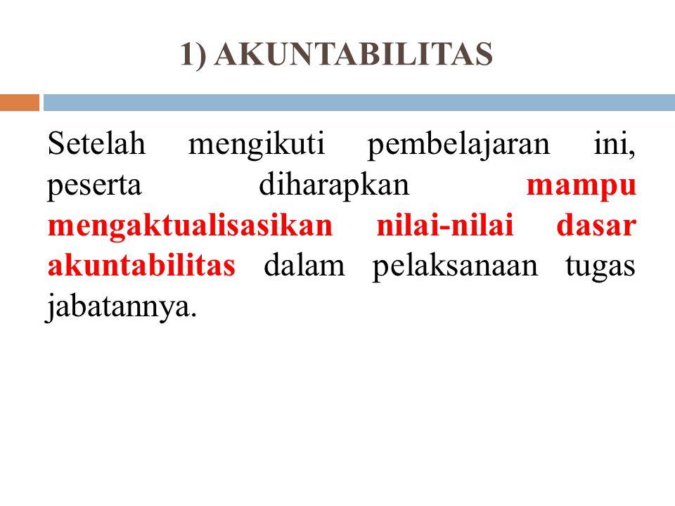 (Struktur Kurikulum Diklat Prajabatan) A.