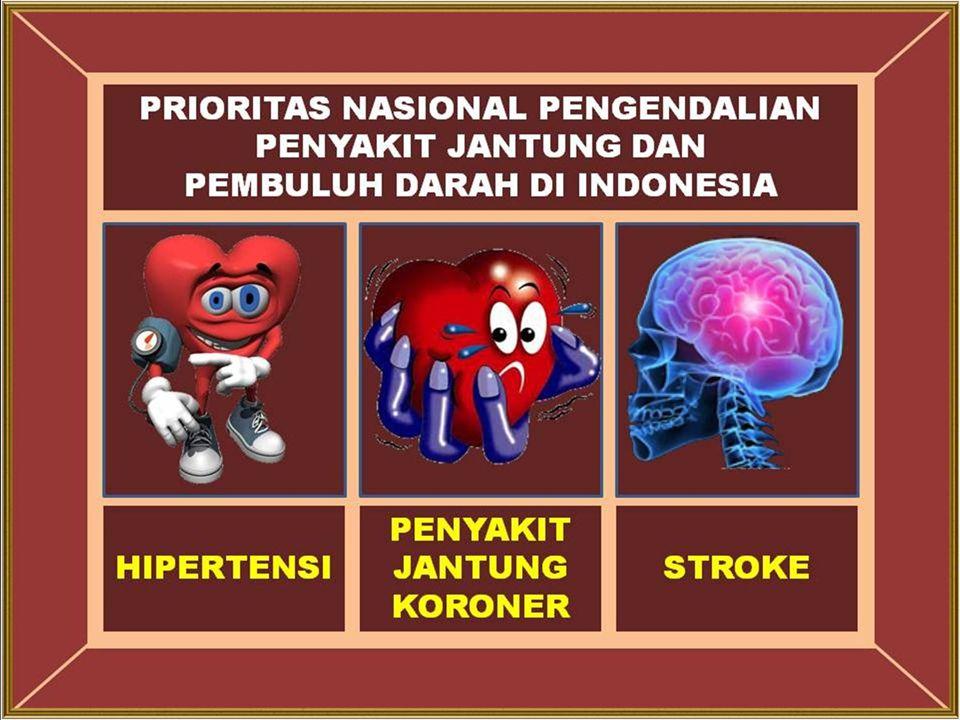 HIPERTENSI Pengertian  Hipertensi atau tekanan darah tinggi adalah peningkatan tekanan darah secara menetap ≥ 140/90 mmHg.