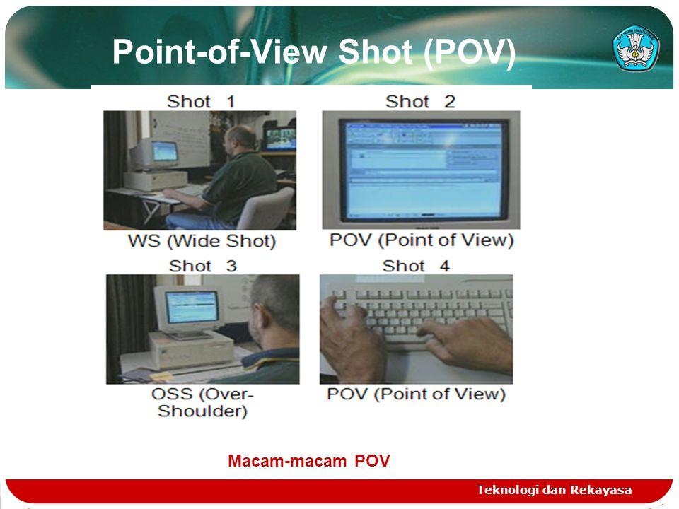Point-of-View Shot (POV) Teknologi dan Rekayasa Macam-macam POV