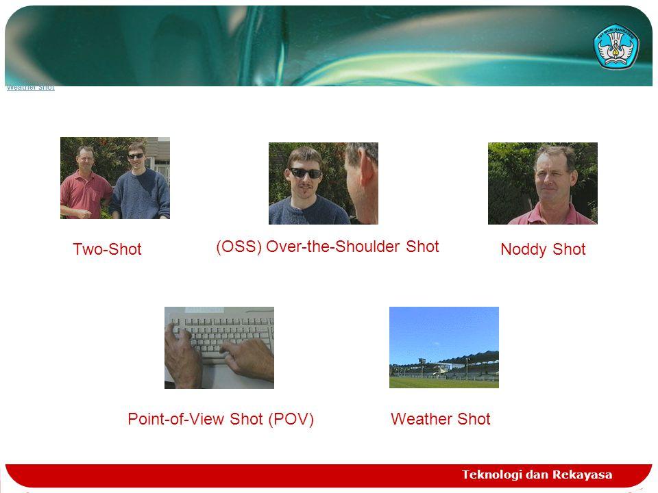 Wide shot (WS) :subyek diambil dengan bingkai penuh Teknologi dan Rekayasa Gambar wide shot