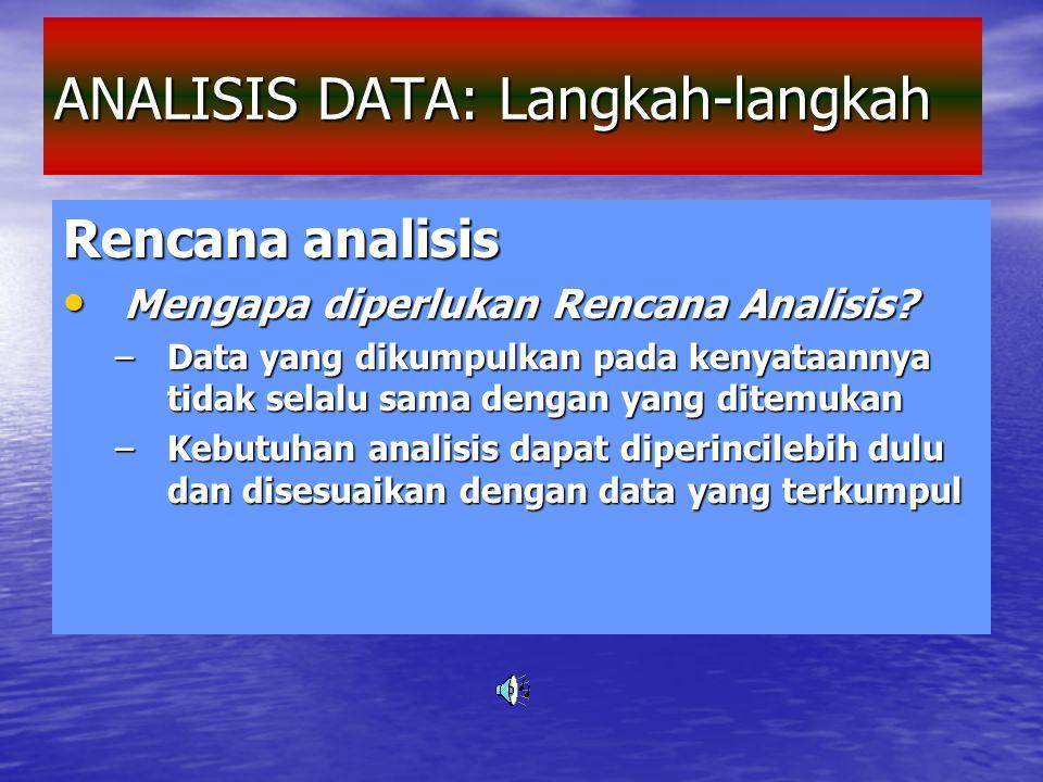 3. Penyederhanaan Data Dilakukan dengan membuat klasifikasi, yaitu: Dilakukan dengan membuat klasifikasi, yaitu: menggolongkan data dari ratusan/puluh