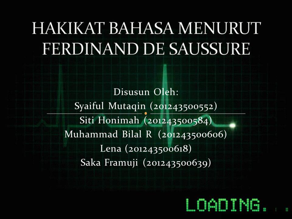 Disusun Oleh: Syaiful Mutaqin (201243500552) Siti Honimah (201243500584) Muhammad Bilal R (201243500606) Lena (201243500618) Saka Framuji (20124350063