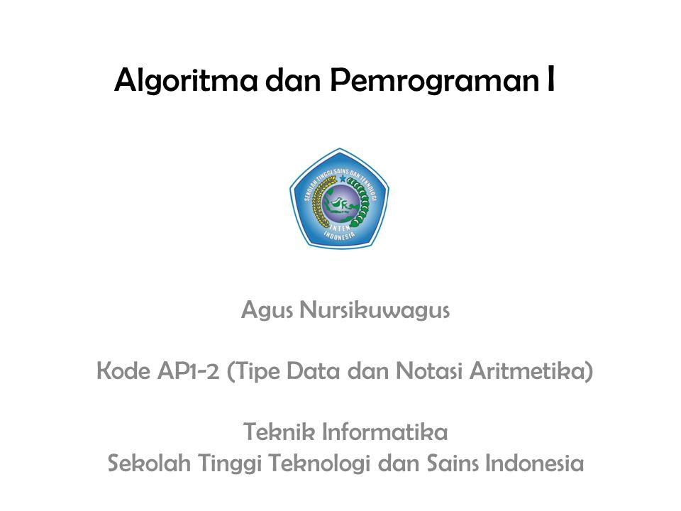 Tugas (Kode AP1-1) Tugas : – Mencari definisi algoritma dan pemrograman dari berbagai referensi – Mencari jenis bahasa pemrograman dan mengelompokan kedalam tingkatan bahasa pemrograman serta menyebutkan kegunaannya – Dikerjakan secara individu 21