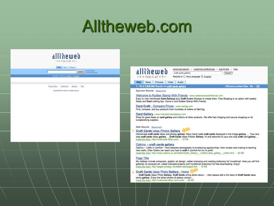 Alltheweb.com