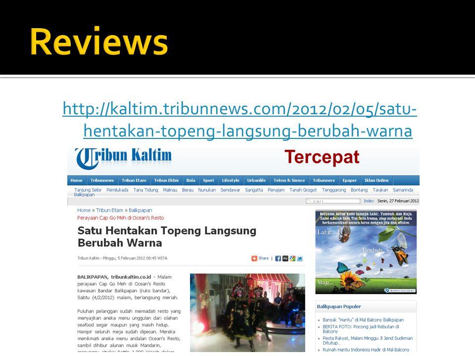 http://kaltim.tribunnews.com/2012/02/05/satu- hentakan-topeng-langsung-berubah-warna