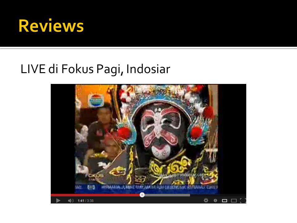 LIVE di Fokus Pagi, Indosiar