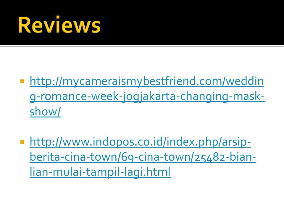  http://mycameraismybestfriend.com/weddin g-romance-week-jogjakarta-changing-mask- show/ http://mycameraismybestfriend.com/weddin g-romance-week-jogj