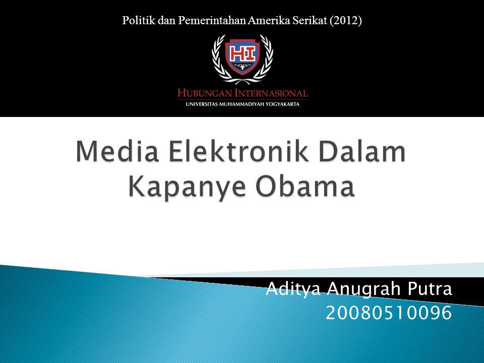 Aditya Anugrah Putra 20080510096 Politik dan Pemerintahan Amerika Serikat (2012)