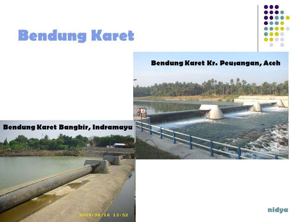 Bendung Karet nidya Bendung Karet Kr. Peusangan, Aceh Bendung Karet Bangkir, Indramayu