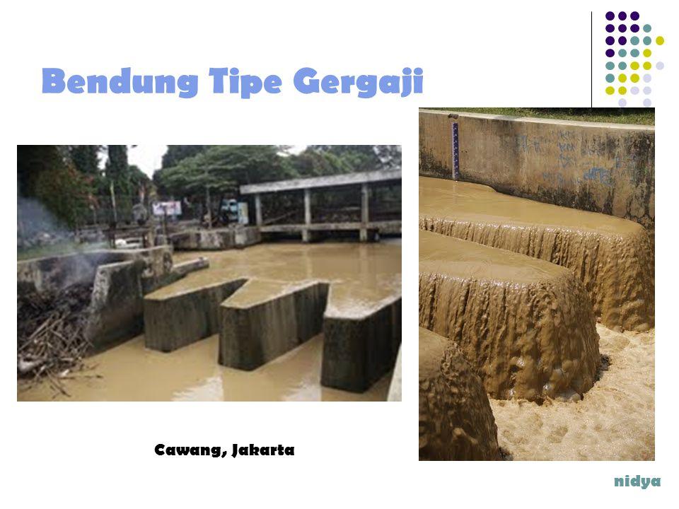 Bendung Tipe Gergaji Cawang, Jakarta nidya