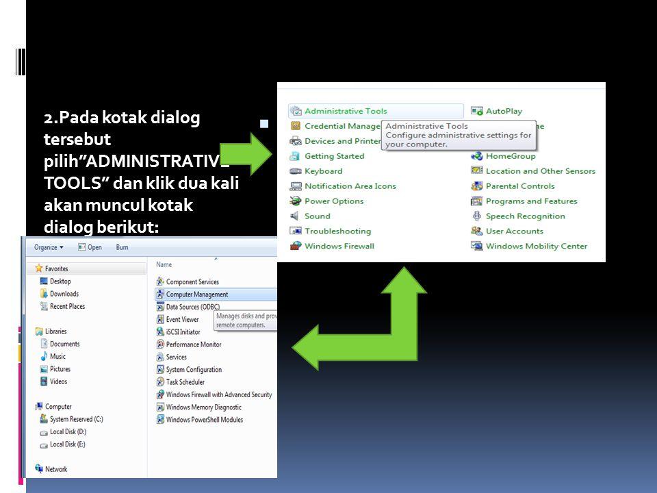 Langkah-langkah menuju partisi-partisi yang ada di komputer 1.Klik WINDOWS pada keyboard atau klik tanda Pada layar monitor.