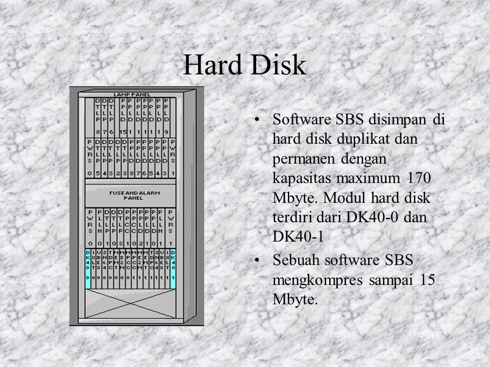 Prosesor Administrasi Prosesor Administrasi dioperasikan pada mode AKTIF / STANDBY dan terdiri dari 3 dupikasi : MPCC ( Main Processor Control Circuit