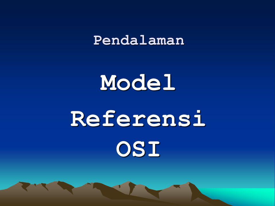 Pendalaman Model Referensi OSI