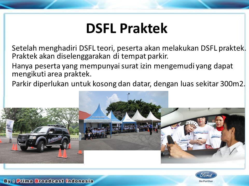 Closing Sebelum upacara penutupan, sertifikat akan diberikan kepada peserta yang telah mengikuti program pelatihan DSFL.