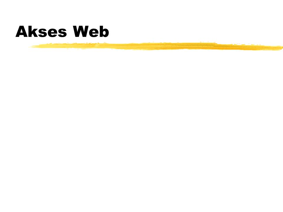 Akses Web