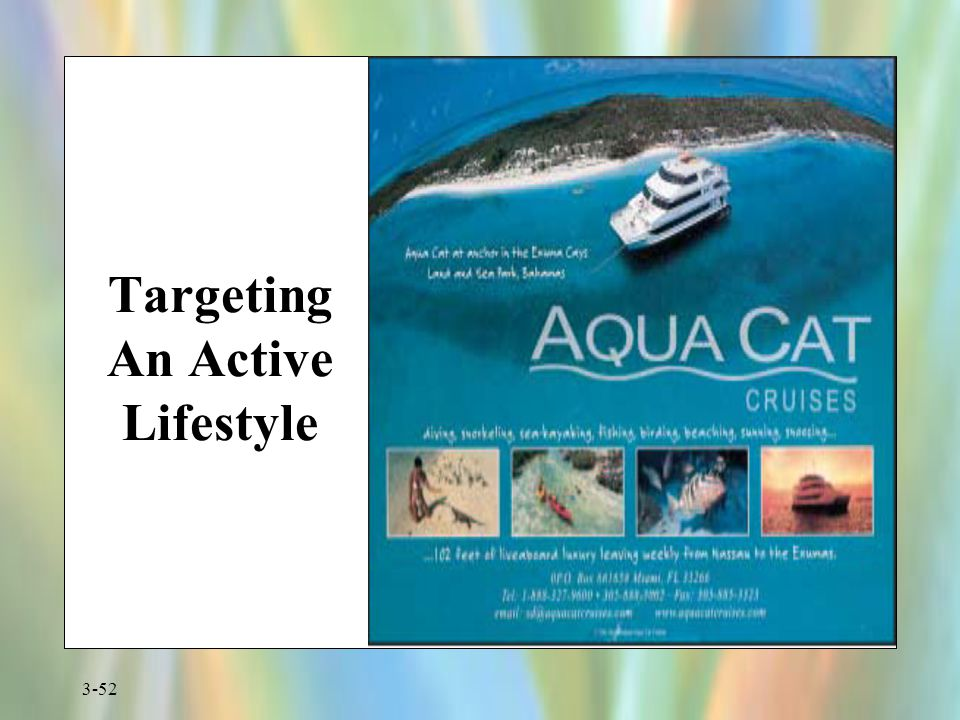 3-52 Targeting An Active Lifestyle
