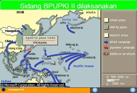 Sosialisasi KTSP Sidang BPUPKI II dilaksanakan