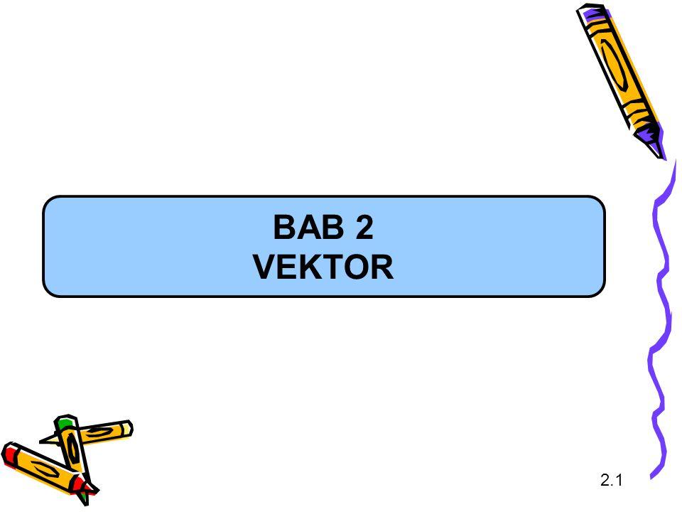 BAB 2 VEKTOR 2.1